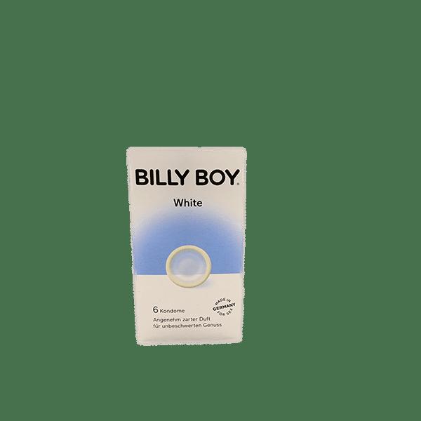 Billy Boy White kondomer - 6 stk.