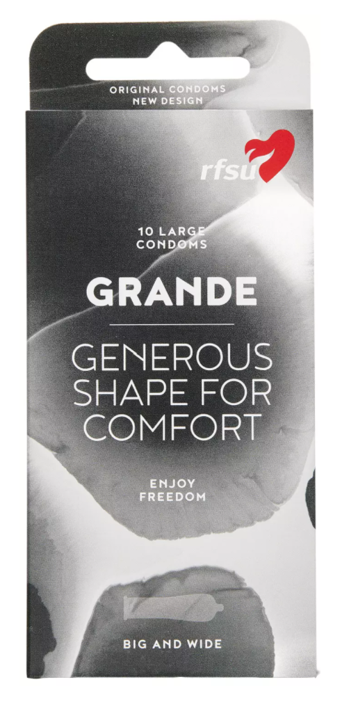 RFSU Grande kondomer - 10 stk